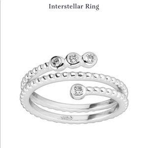 Silpada Sterling Silver Interstellar Ring